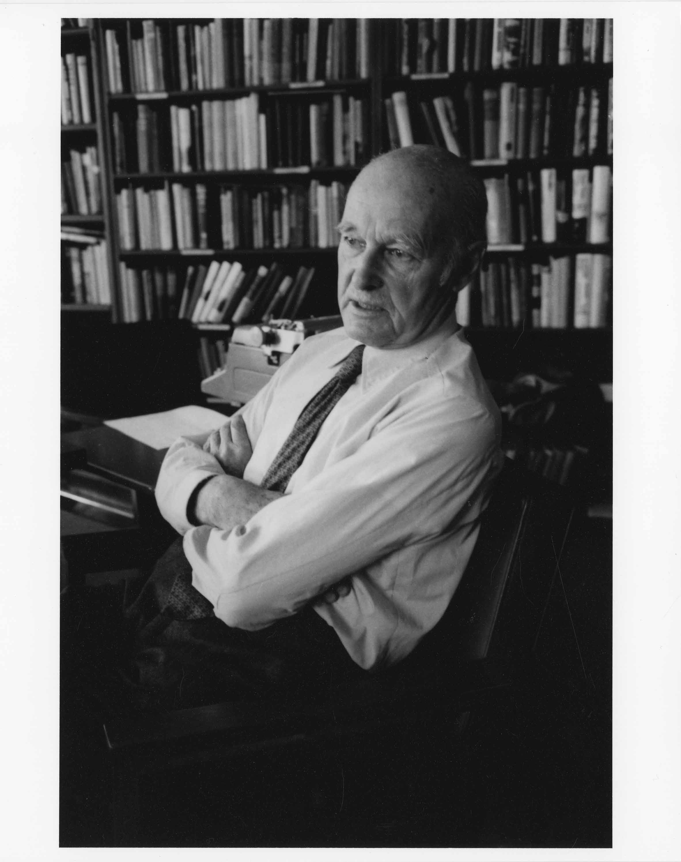 Portrait of George Kennan by Herman Landshoff, 1981. Republished with the permission of the Shelby White and Leon Levy Archives Center at the Institute for Advanced Study.