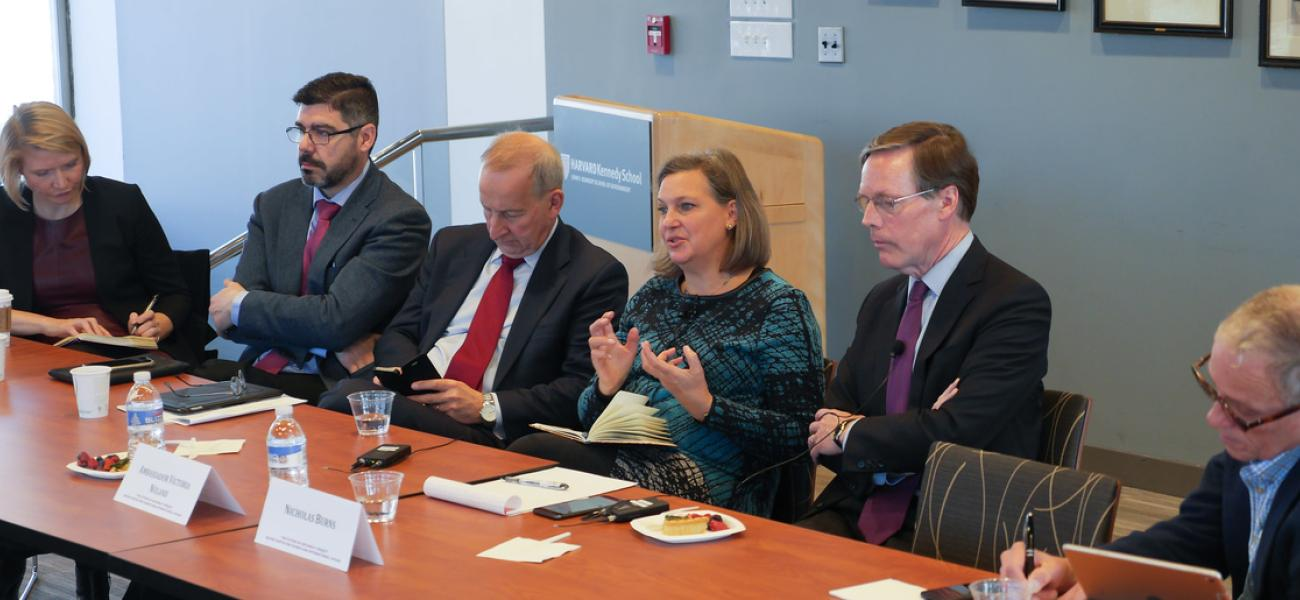 Victoria Nuland at the Belfer Center