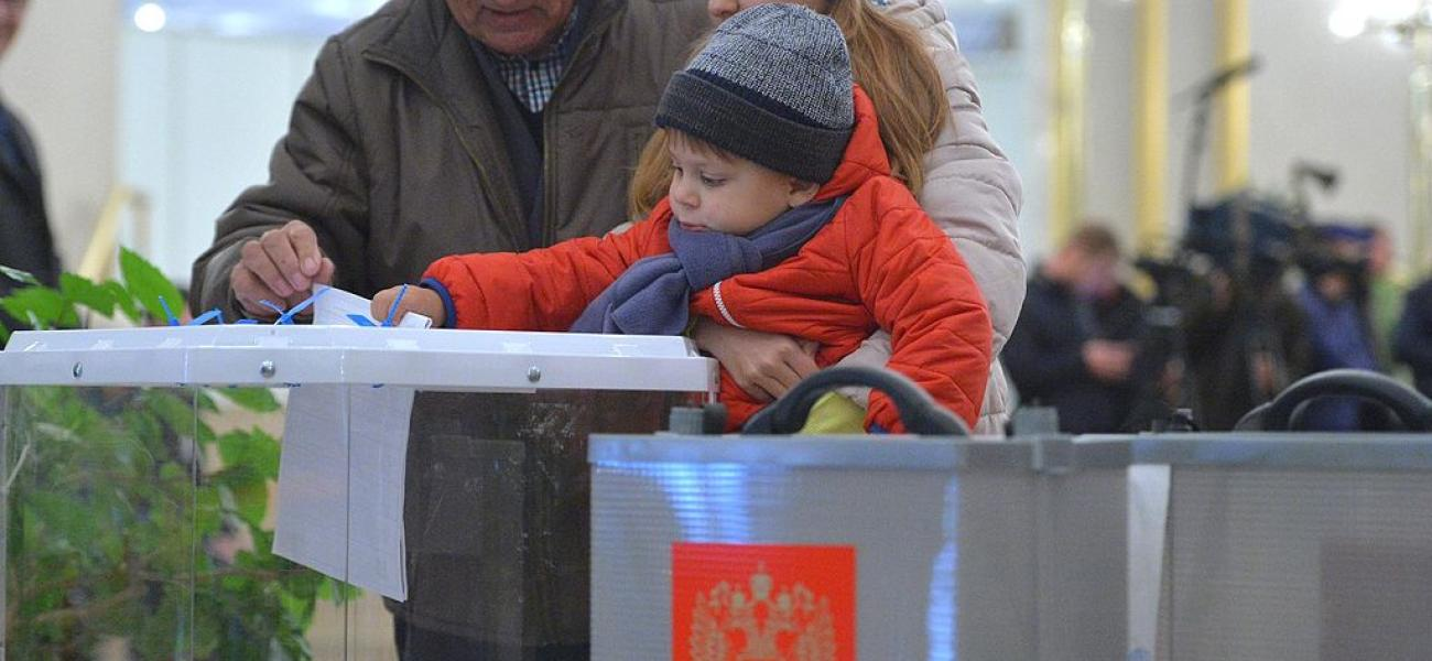 voters in Moscow, 2016