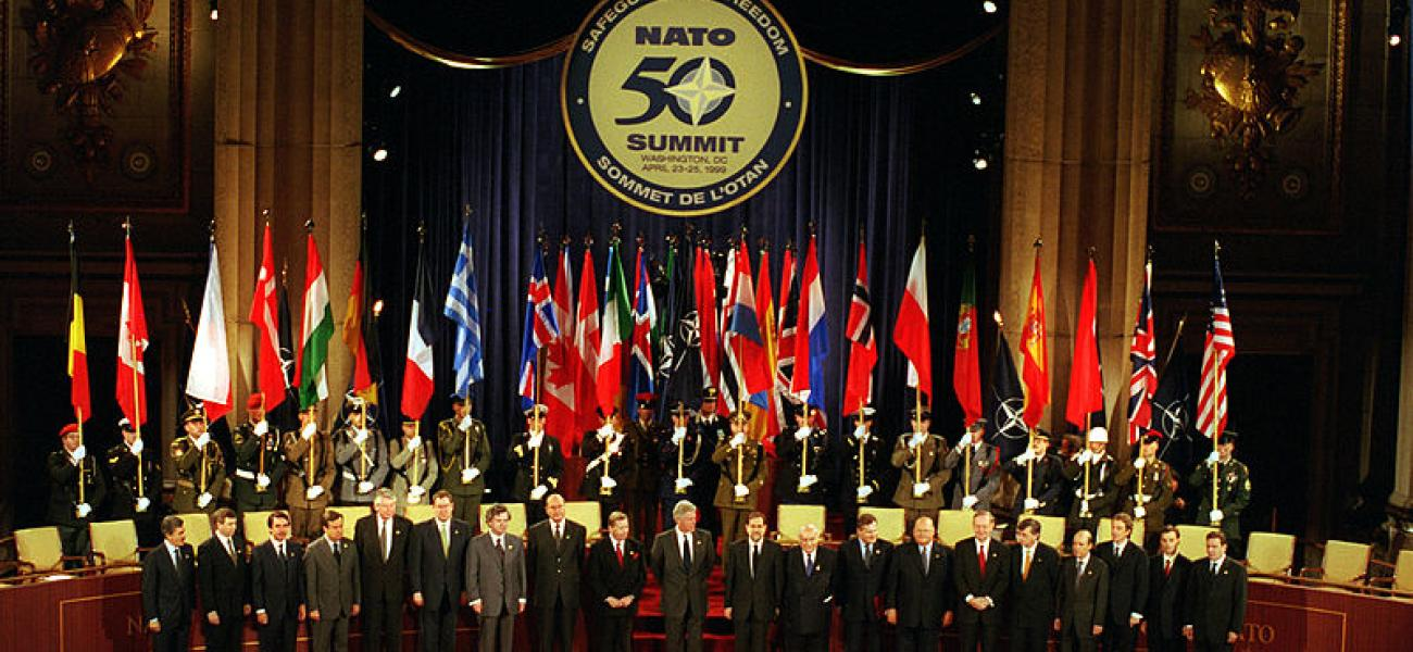NATO summit April 1999