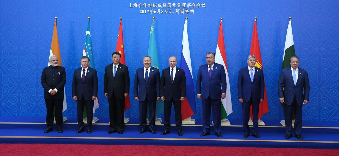 Heads of SCO member countries.