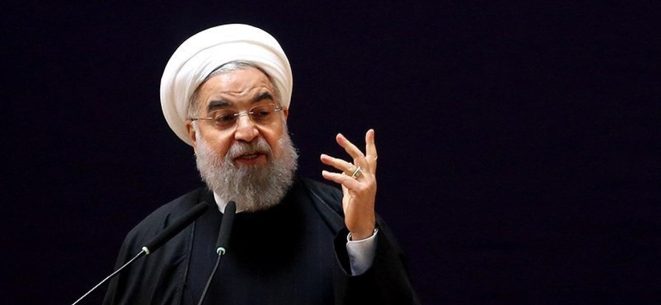 Iranian leader Hassan Rouhani.