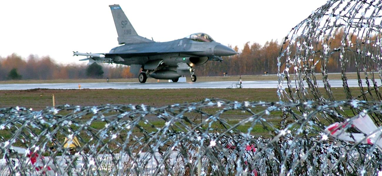NATO jet in Lithuania