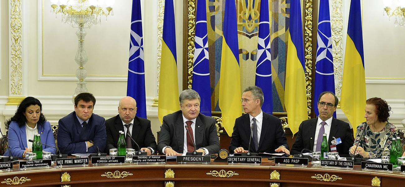 Ukraine-NATO Commission chaired by Petro Poroshenko, 2017.