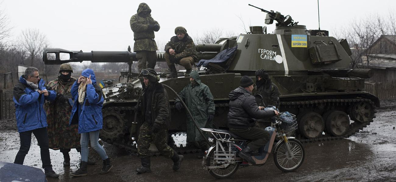 OSCE SMM monitoring the movement of heavy weaponry in eastern Ukraine